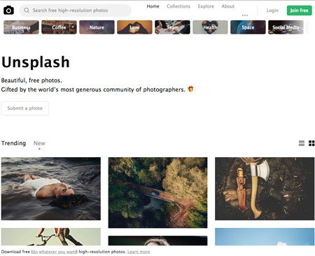Royalty free stock photo images from unsplash